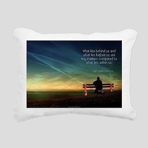 Self Motivation Rectangular Canvas Pillow