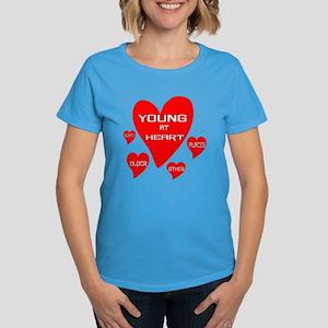 Young at Heart Women's Dark T-Shirt