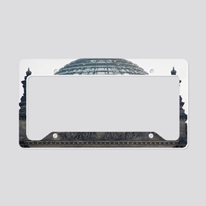 Glass dome of the Reichstag b License Plate Holder