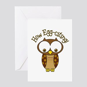 How Egg-Citing! Greeting Cards