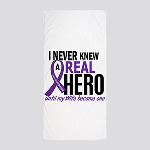 Cystic Fibrosis Real Hero 2 Beach Towel