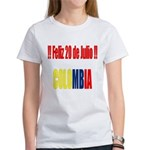 20 Julio Colombian day Women's T-Shirt