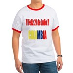 20 Julio Colombian day Ringer T