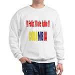 20 Julio Colombian day Sweatshirt