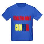 20 Julio Colombian day Kids Dark T-Shirt