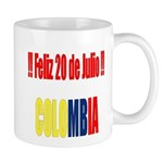 20 Julio Colombian day Mug