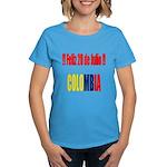 20 Julio Colombian day Women's Dark T-Shirt