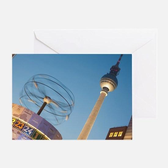 Alexanderplatz, Berlin Greeting Card