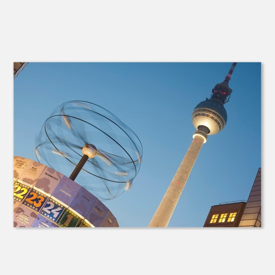 Alexanderplatz, Berlin Postcards (Package of 8)