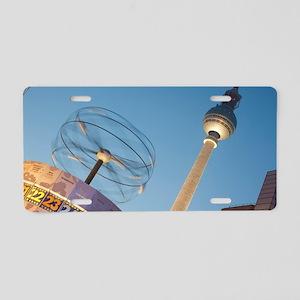 Alexanderplatz, Berlin Aluminum License Plate
