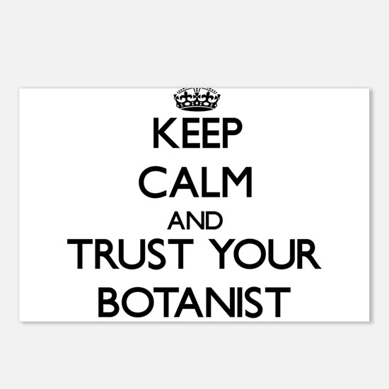 Keep Calm and Trust Your Botanist Postcards (Packa