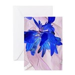 Fairy flowers Greeting Cards