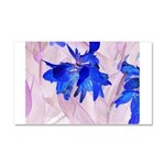 Fairy flowers Car Magnet 20 x 12