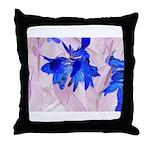 Fairy flowers Throw Pillow