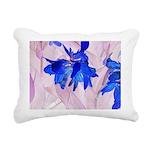 Fairy flowers Rectangular Canvas Pillow