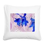Fairy flowers Square Canvas Pillow