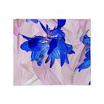 Fairy flowers Throw Blanket