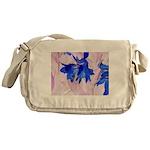 Fairy flowers Messenger Bag