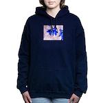 Fairy flowers Women's Hooded Sweatshirt