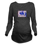 Fairy flowers Long Sleeve Maternity T-Shirt