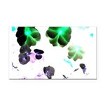 Blooming space Rectangle Car Magnet
