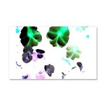 Blooming space Car Magnet 20 x 12