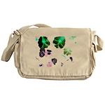 Blooming space Messenger Bag