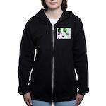 Blooming space Women's Zip Hoodie