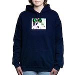 Blooming space Women's Hooded Sweatshirt