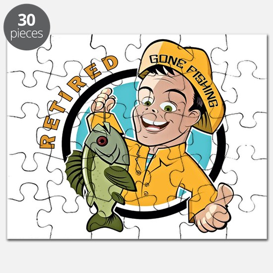 Retired - Gone Fishing Puzzle