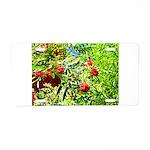 Rowan berries Aluminum License Plate