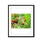 Rowan berries Framed Panel Print