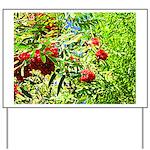 Rowan berries Yard Sign