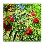 Rowan berries Tile Coaster