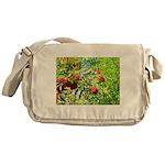 Rowan berries Messenger Bag