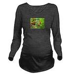 Rowan berries Long Sleeve Maternity T-Shirt