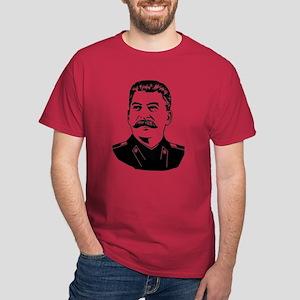 Stalin Propaganda Dark T-Shirt