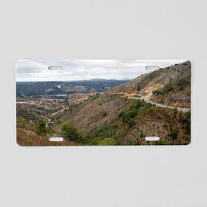 queenstown landscape Aluminum License Plate