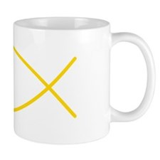 Yellow Christian Faith Fish Mug
