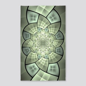 Stained Glass 1 3'x5' Area Rug