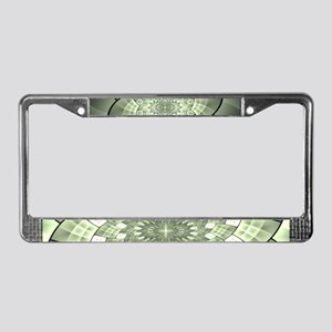 Stained Glass 1 License Plate Frame