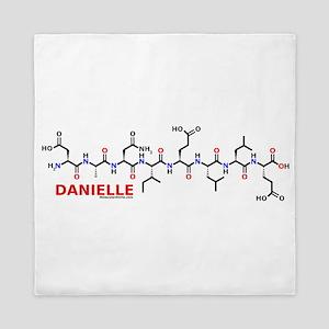 Danielle molecularshirts.com Queen Duvet
