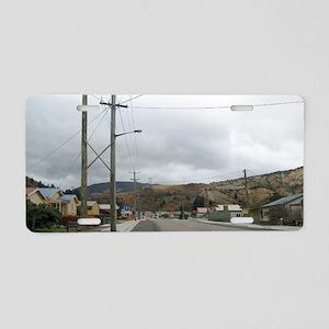 queenstown road Aluminum License Plate