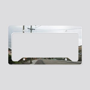 queenstown road License Plate Holder