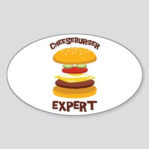 CHEESEBURGER EXPERT Sticker