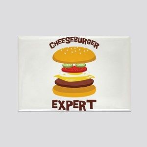 CHEESEBURGER EXPERT Magnets