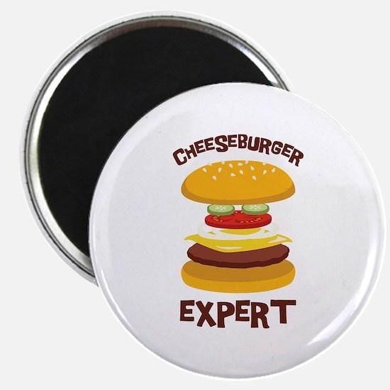 CHEESEBURGER EXPERT Magnets