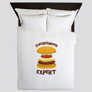 CHEESEBURGER EXPERT Queen Duvet