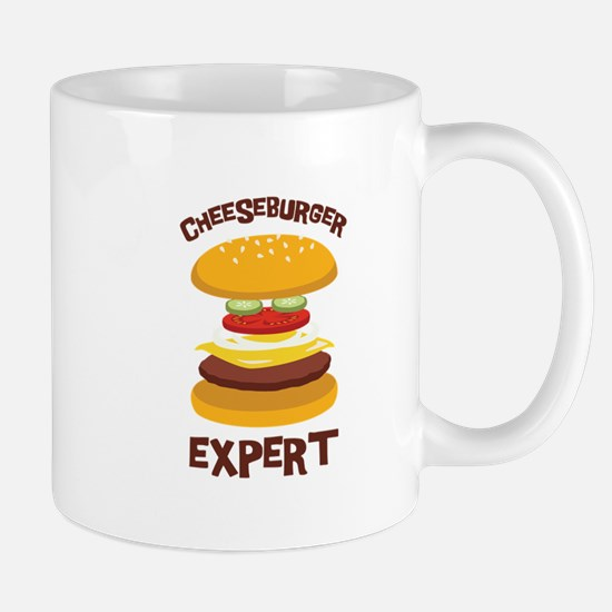 CHEESEBURGER EXPERT Mugs
