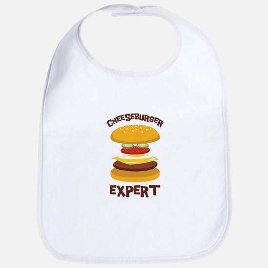 CHEESEBURGER EXPERT Bib